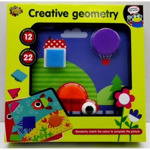 Joc Mozaic Forme Geometrice Mari 0