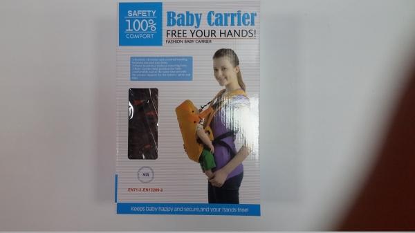 Marsupiu pentru bebelusii baby carrier portocaliu 1