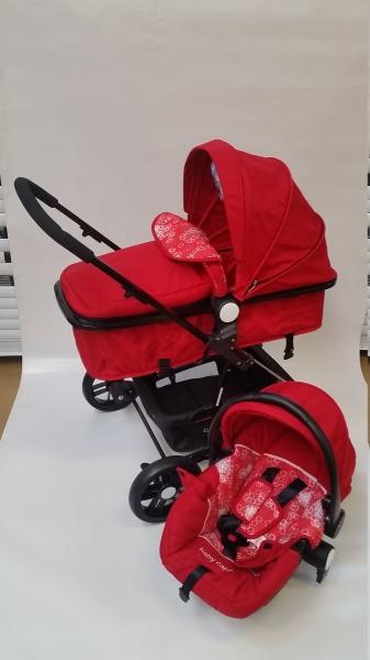 Caraucior nou nascut Baby Care 3 in  1 transformabil 0