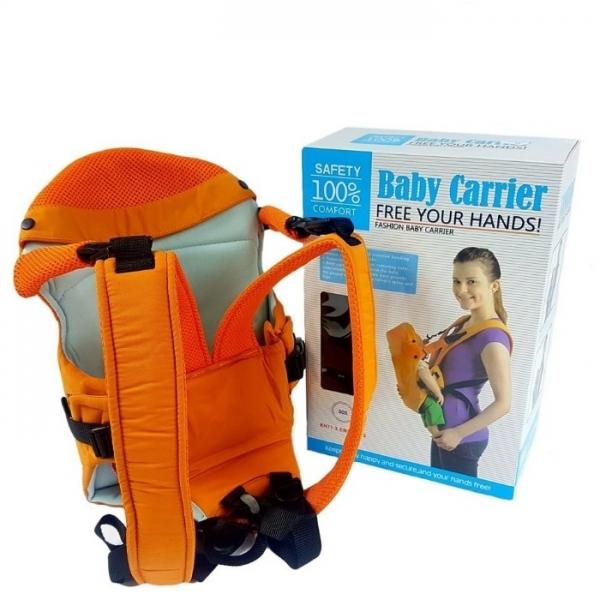 Marsupiu pentru bebelusii baby carrier portocaliu 2