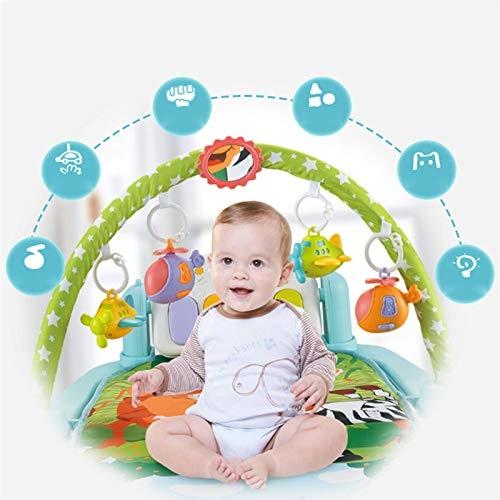 Saltea activitatii Baby Piano Gym cu telecomanda 6