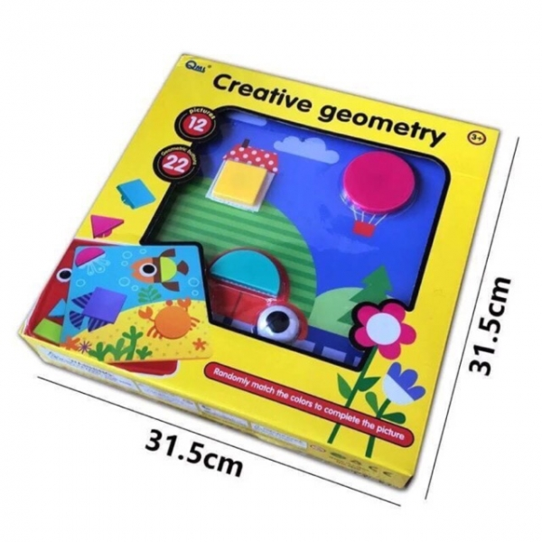 Joc Mozaic Forme Geometrice Mari 5