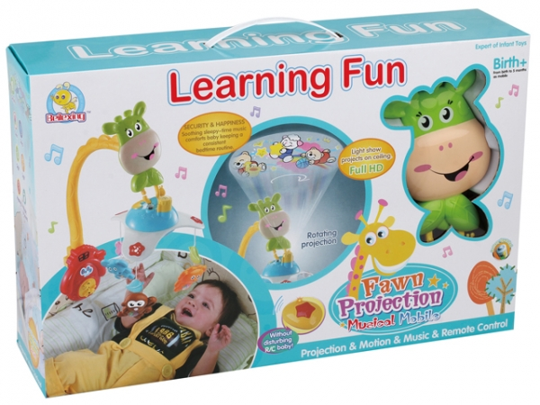 Carusel pentru copii learning fun Girafa 1