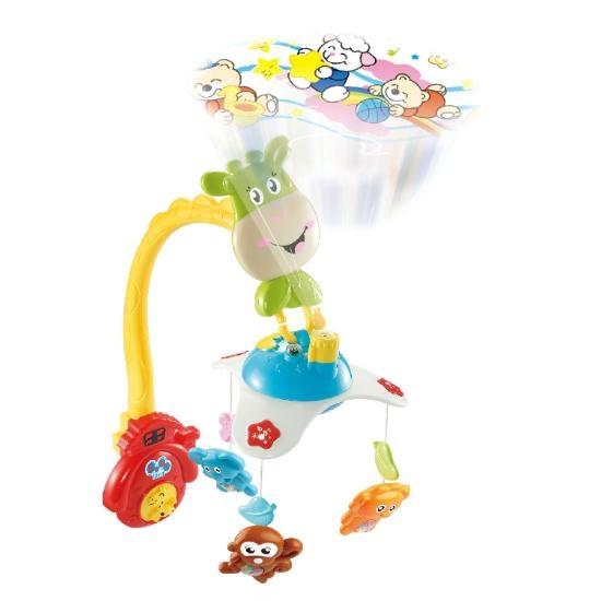 Carusel pentru copii learning fun Girafa 0