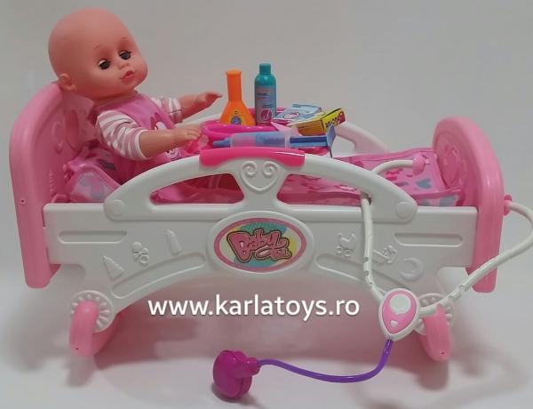 Patut cu bebelus si accesorii 0
