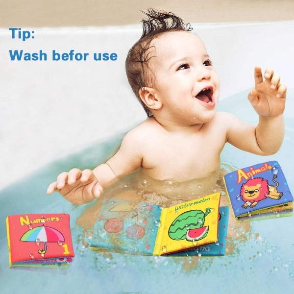 Set 6 carti bebelusi senzoriale - Prima mea carte material textil Top Bright 1