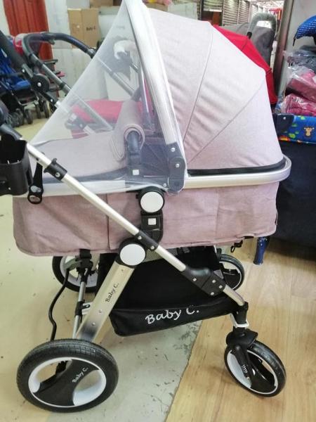Carucior nou nascuti 2 in 1 Baby Care PRO YK-18 9