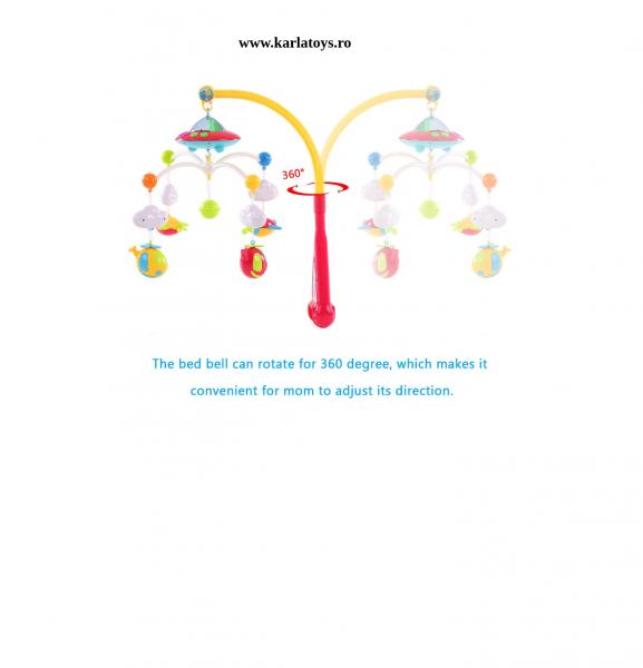 Carusel pentru copii cu avioane si elicoptere Dream world 5