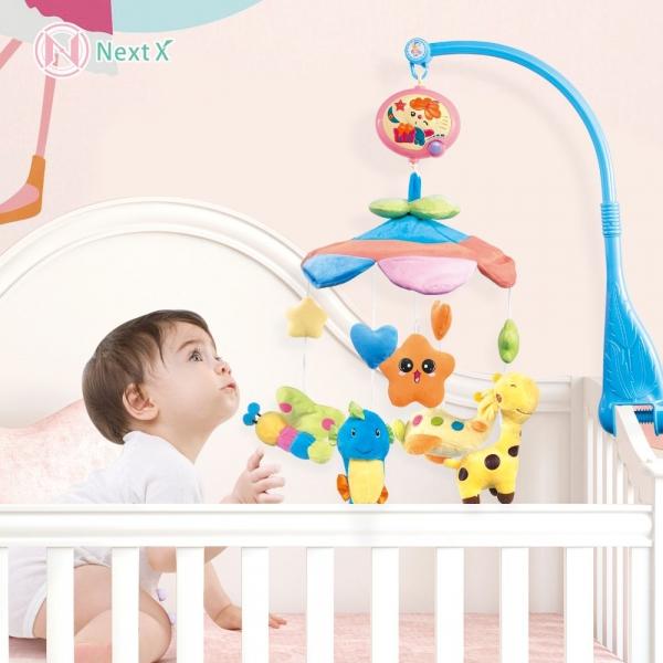 Carusel pentru copii musical mobile -jucarii din plus 1