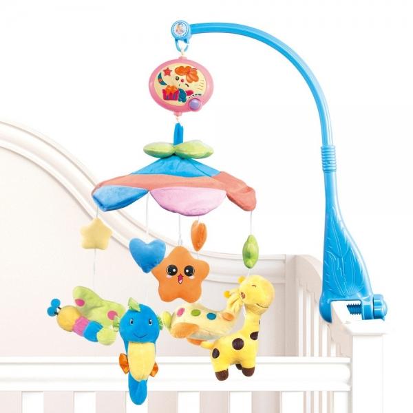 Carusel pentru copii musical mobile -jucarii din plus 0