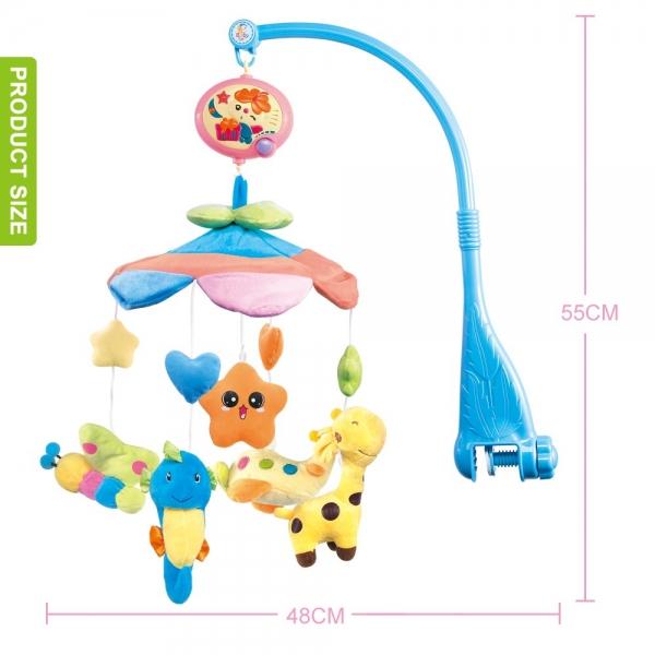 Carusel pentru copii musical mobile -jucarii din plus 3