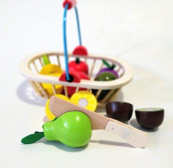 Cosuletul cu Fructe din lemn feliere 2