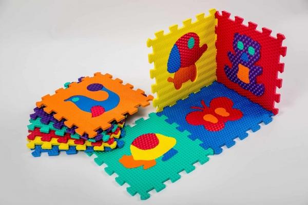 Set puzzel 10 piese cu animale 31/31 cm 0
