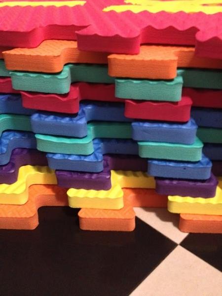 Set puzzel 10 piese cu animale 31/31 cm 1