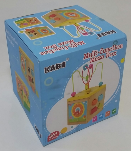 Cub educativ 5 in 1 Active Sun KABI 7