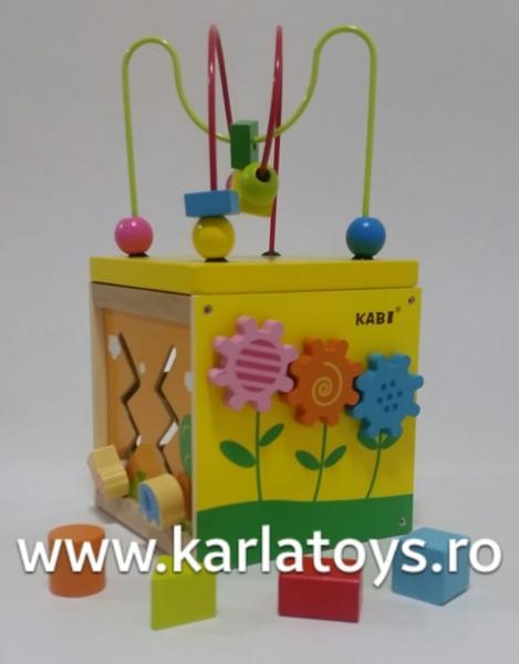 Cub educativ 5 in 1 Active Sun KABI 5