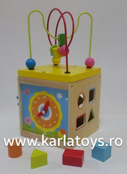 Cub educativ 5 in 1 Active Sun KABI 6