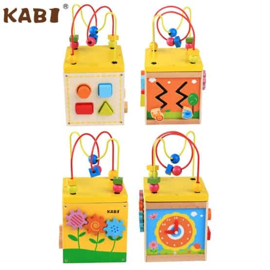 Cub educativ 5 in 1 Active Sun KABI 9