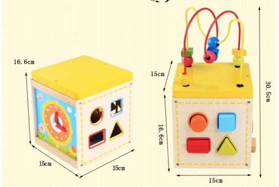 Cub educativ 5 in 1 Active Sun KABI 0