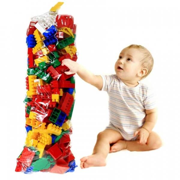 Cuburi constructie lego K2 Super max 350 piese 0