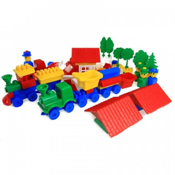 Cuburi constructie lego K2 Super max 350 piese 3