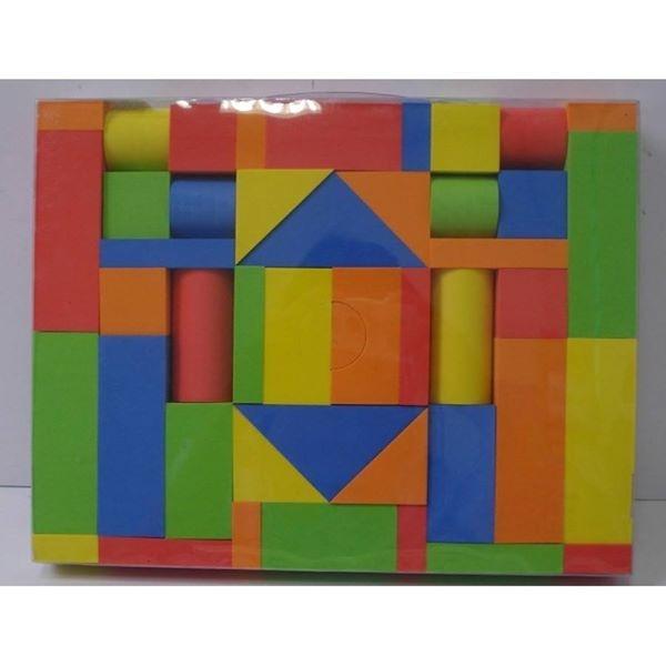 Set cuburi de construit din spuma eva 0