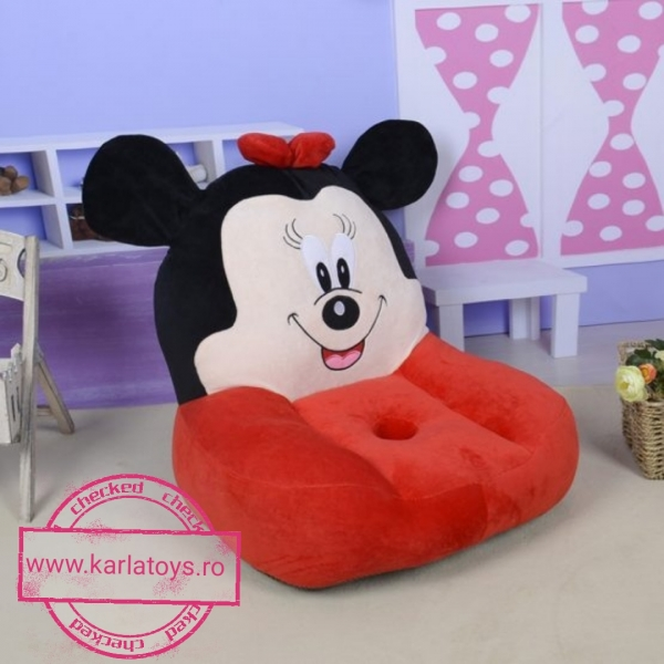 Fotoliu din plus Minnie Mouse /Mickey Mouse Mare sit down 2