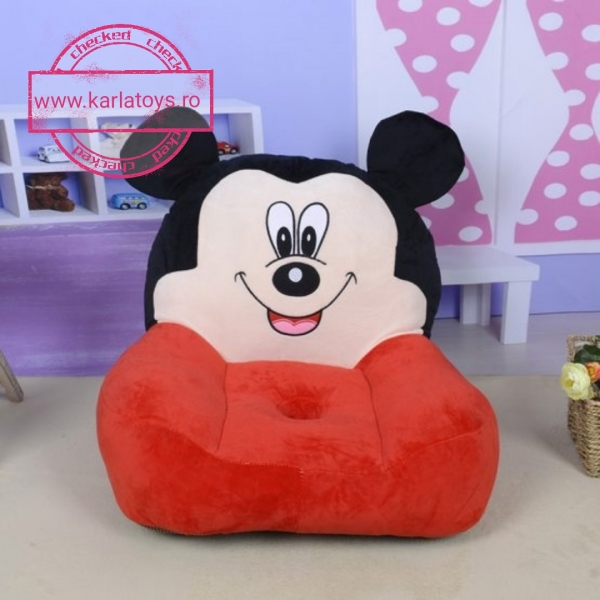 Fotoliu din plus Minnie Mouse /Mickey Mouse Mare sit down 3
