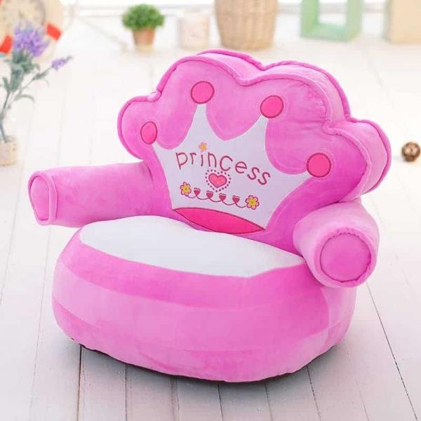 Fotoliu din plus copii Princess sit down 1