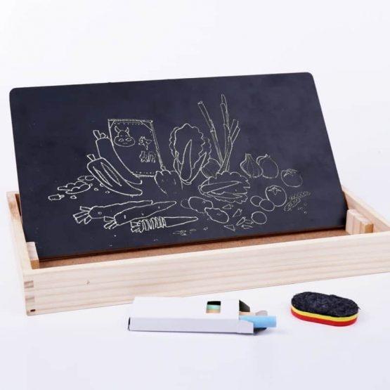 Set educational din lemn matematica 3