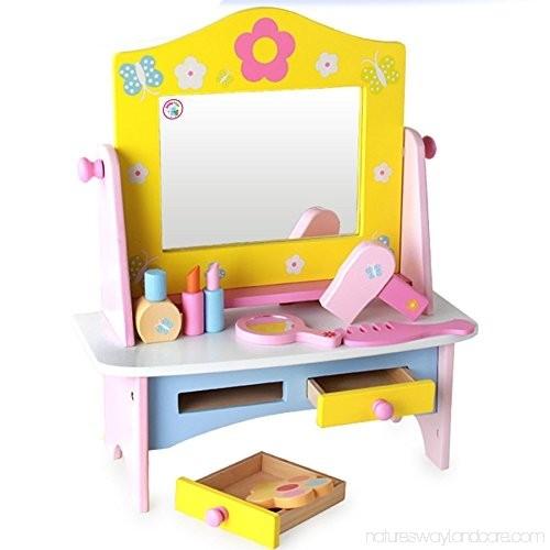 Masuta de toaleta din lemn cu accesorii Dresser 5