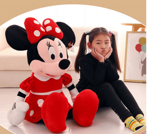Jucarie din pus Minnie Mouse mare 1m 1