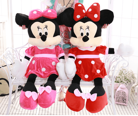 Jucarie din pus Minnie Mouse mare 1m 0