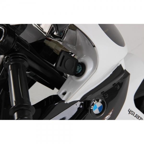 Motocicleta Bmw 12 v cu roti ajutatoare pentru copii 8