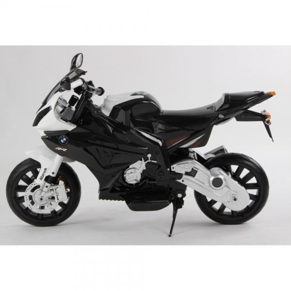 Motocicleta Bmw 12 v cu roti ajutatoare pentru copii 5