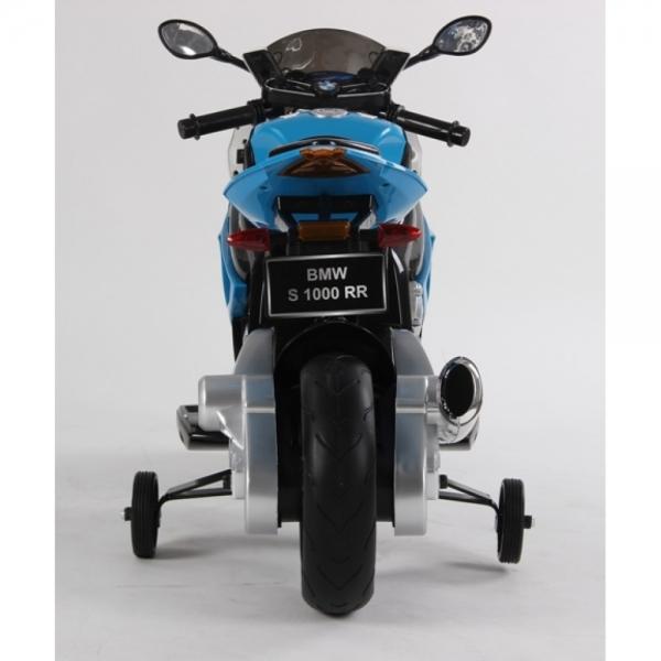 Motocicleta Bmw 12 v cu roti ajutatoare pentru copii 10