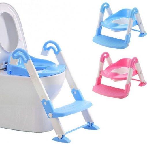 Scaun cu scarita toaleta pentru copii 3 in 1 1