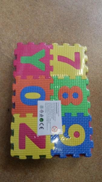 Set de puzzel cifre si litere 36 de buc 0