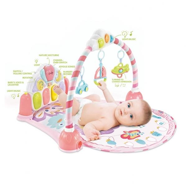 Saltea de joaca bebe cu pian Garden 0