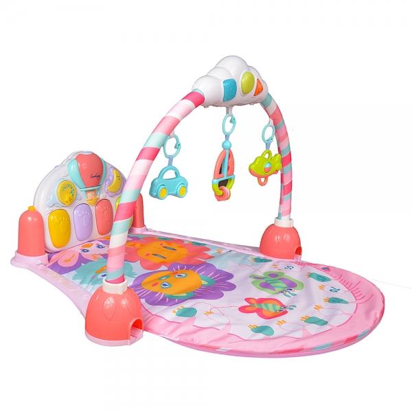 Saltea de joaca bebe cu pian Garden 2