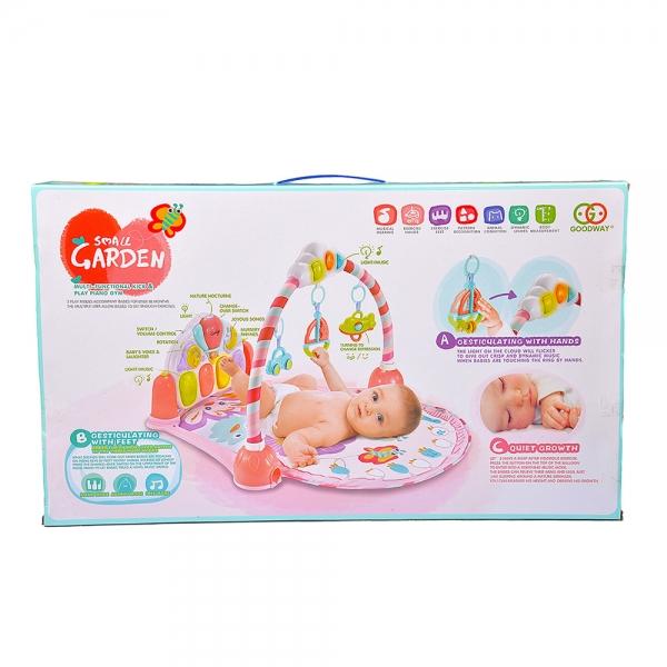 Saltea de joaca bebe cu pian Garden 3