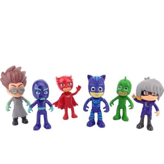 Set 6 figurine Eroii in Pijama pentru copii 1