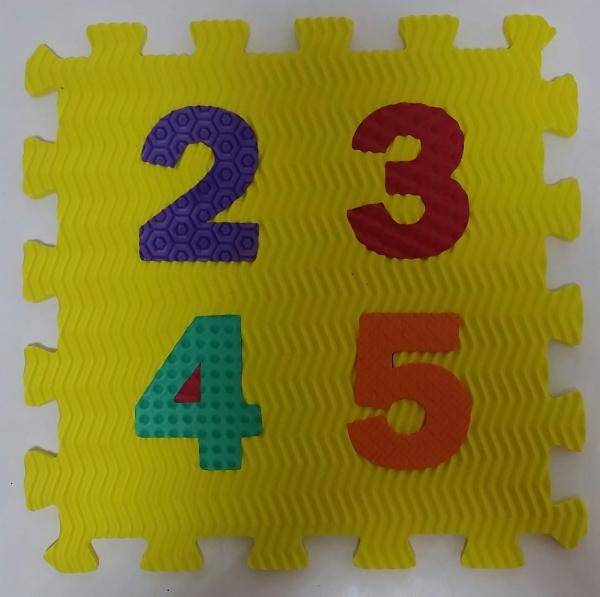 Set puzzel 10 piese cifre si litere  mari 31/31 cm 9
