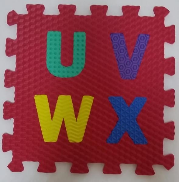 Set puzzel 10 piese cifre si litere  mari 31/31 cm 6