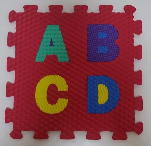 Set puzzel 10 piese cifre si litere  mari 31/31 cm 1