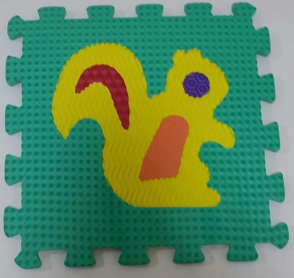 Set puzzel 10 piese cu animale 31/31 cm 11