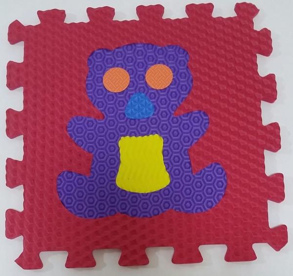 Set puzzel 10 piese cu animale 31/31 cm 4