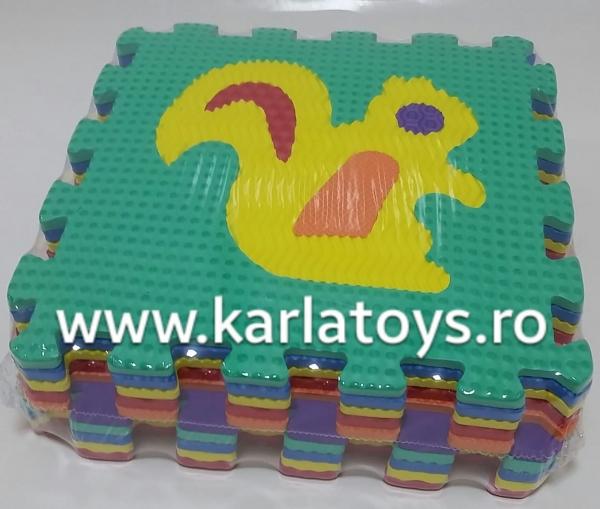 Set puzzel 10 piese cu animale 31/31 cm 2