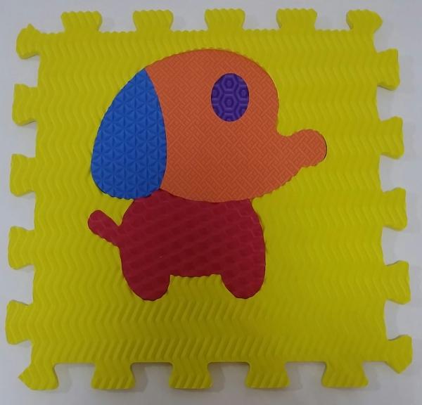Set puzzel 10 piese cu animale 31/31 cm 10