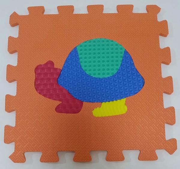 Set puzzel 10 piese cu animale 31/31 cm 3